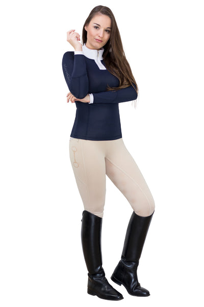 HorseGloss Navy Show Shirt