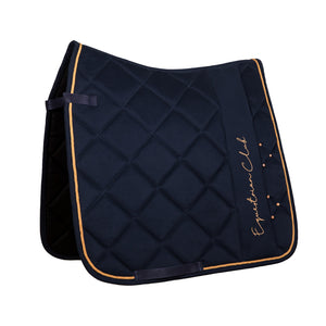 HorseGloss Navy Rose Gold Equestrian Club Crystal Pad