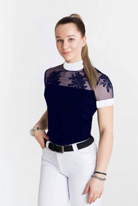 Design By Dalia Lucy Navy Shirt