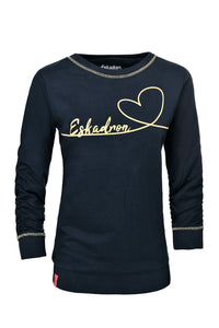 Eskadron Dodo Sweater Navy / Lemon