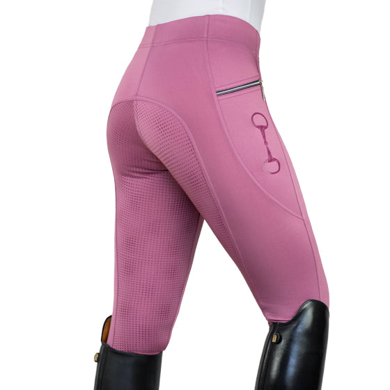 HorseGloss Technical Stretch Leggings Blossom Pink