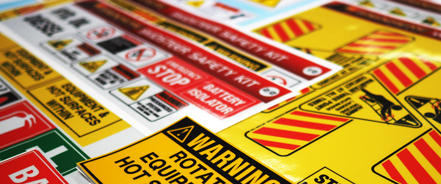 Sign Here Signs can help to put together safety signage kits for your business.