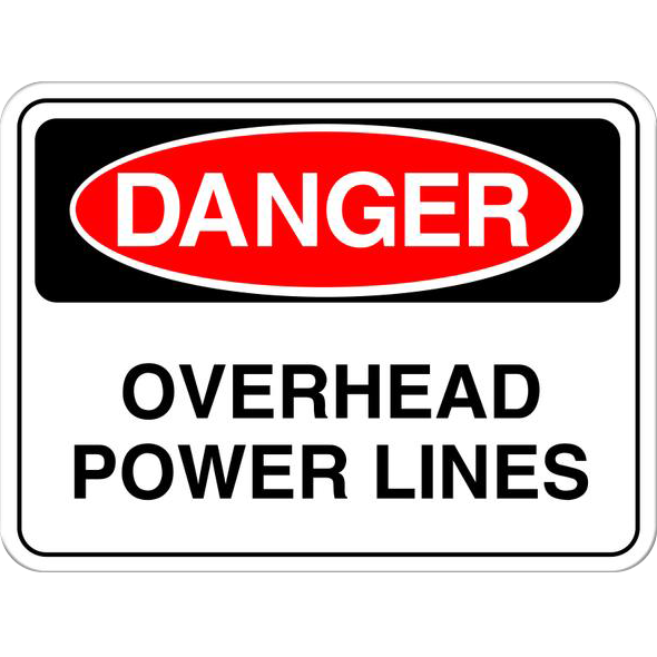 Danger: Overhead Power Lines