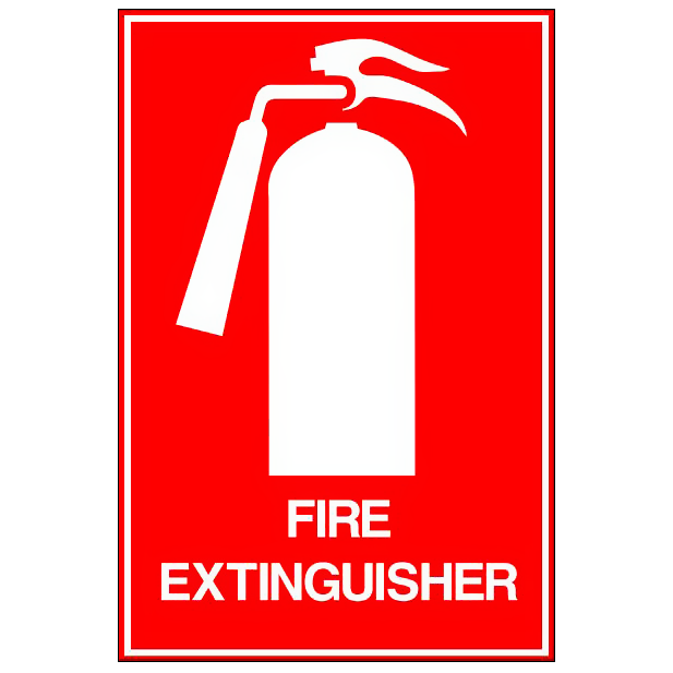 Fire Extinguisher - Tall