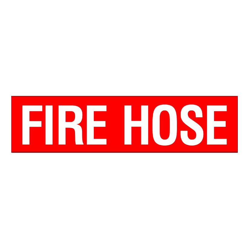 Fire Hose - Text Only