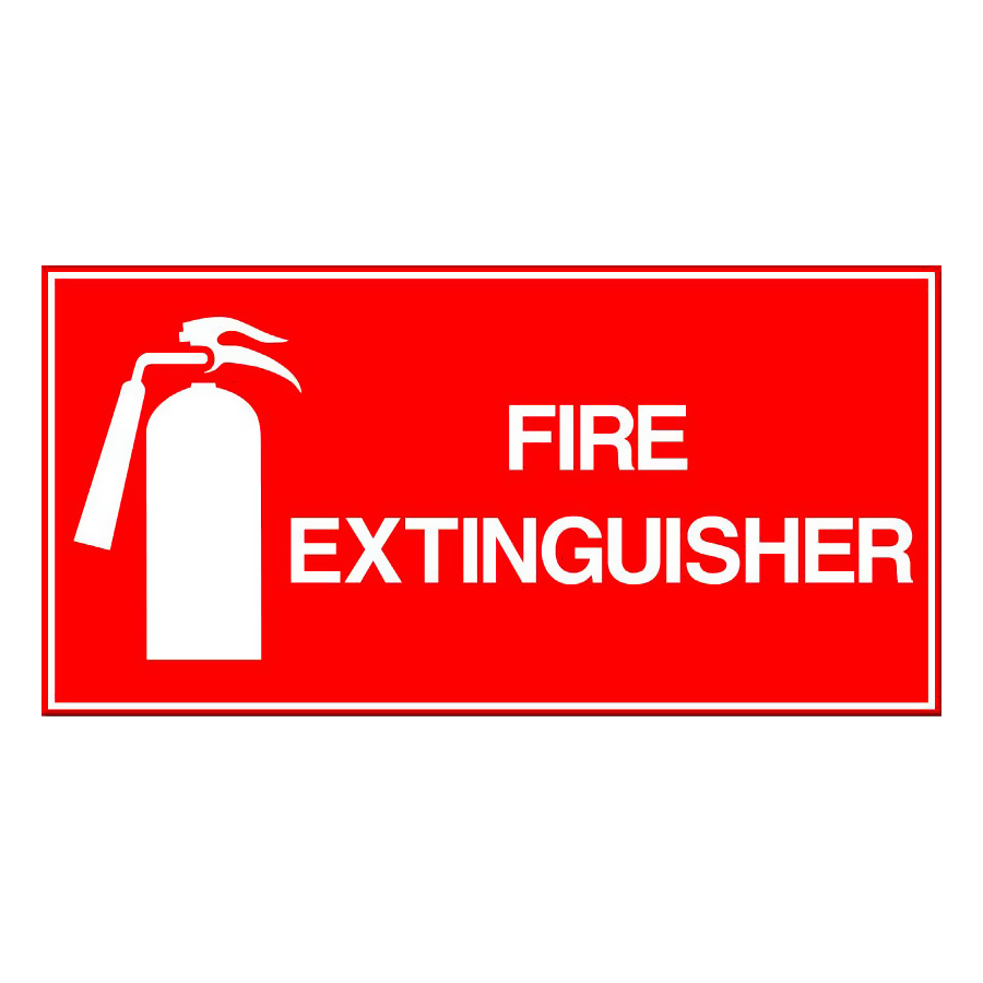 Fire Extinguisher - Wide