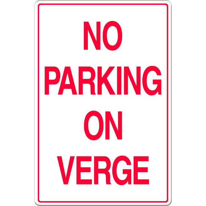 No Parking on Verge