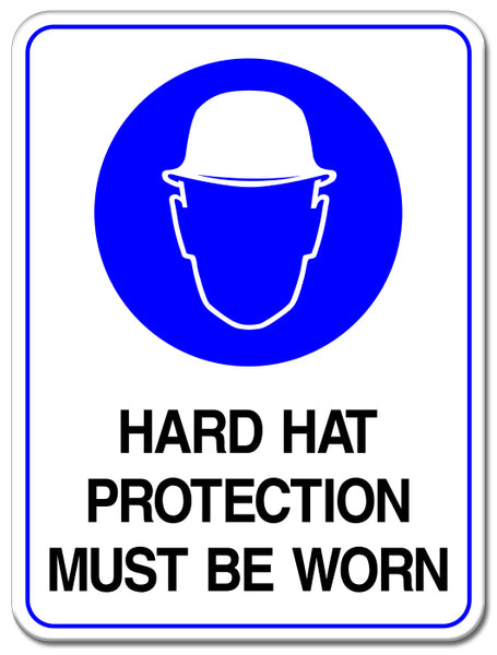 Hard Hat Protection Must Be Worn