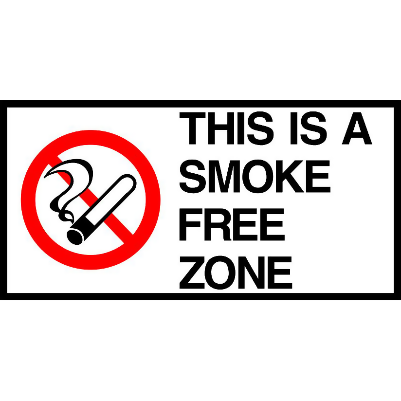 This is a Smoke Free Zone