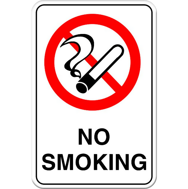 No Smoking - Tall