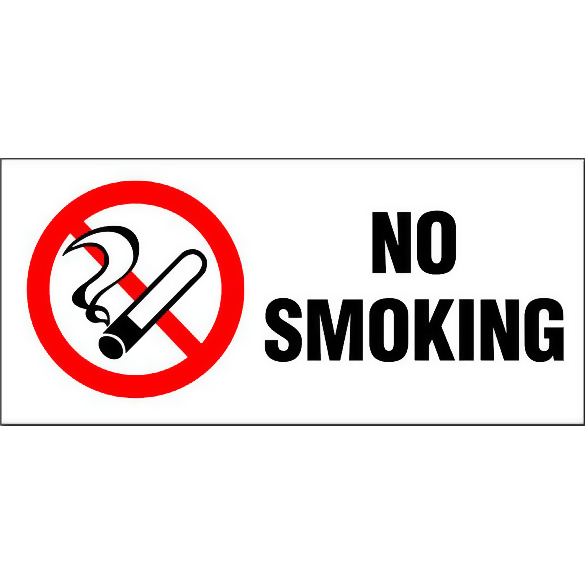 No Smoking - Wide