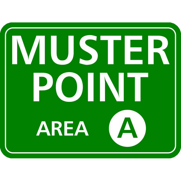 Muster Point with Area Code