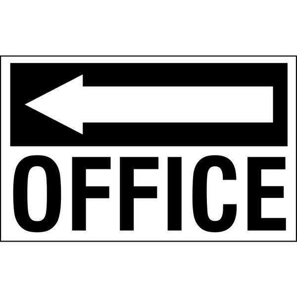 Office - With Left Pointing Arrow