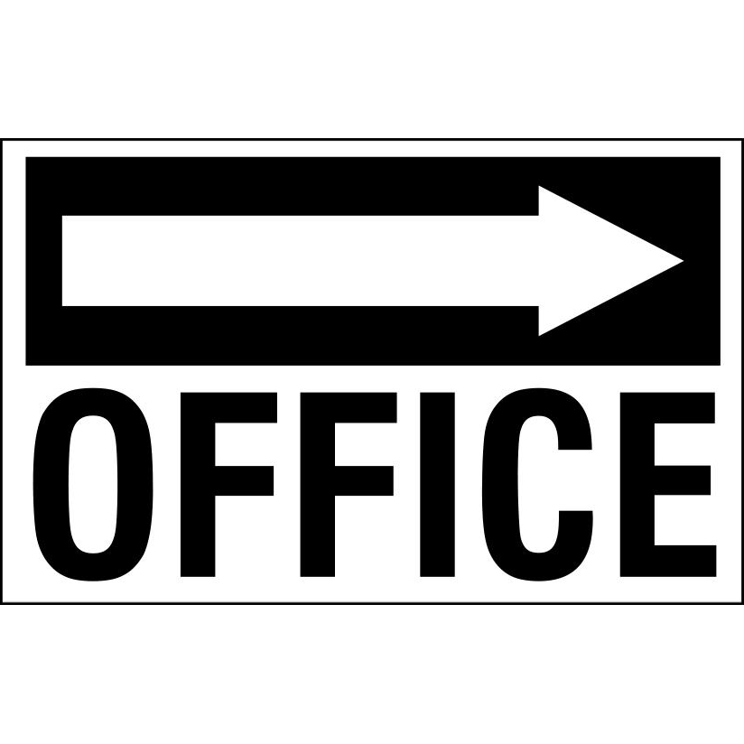 Office - with Right Pointing Arrow