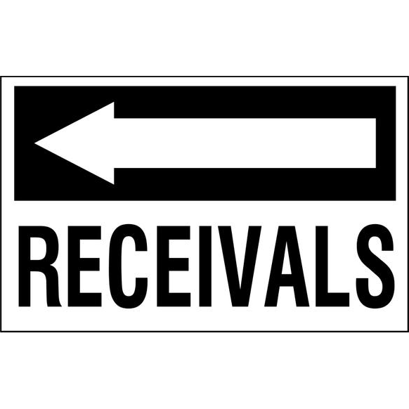 Receivals to the left