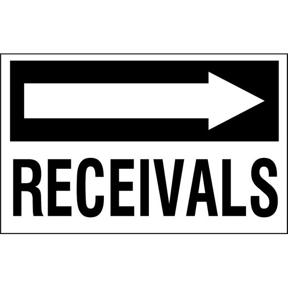Receivals to the right