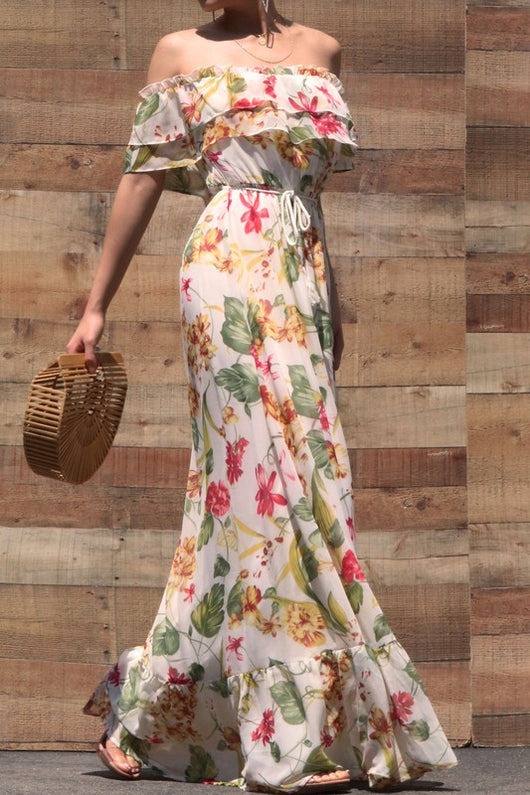 FLAWLESS FIGURE MAXI DRESS