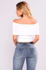 WILDING OUT BANDAGE CROP TOP