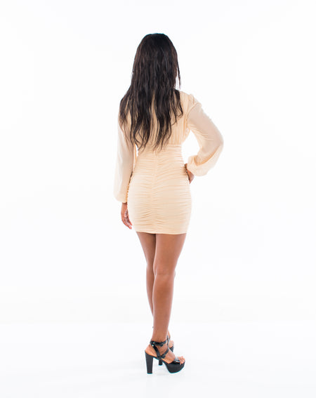 A NEW BEGINNING MINI DRESS