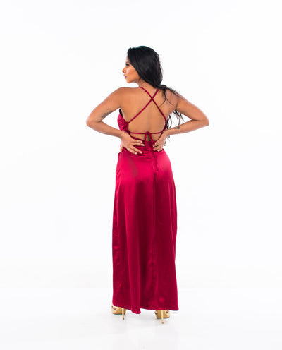 LOST IN THE FIRE MAXI DRESS