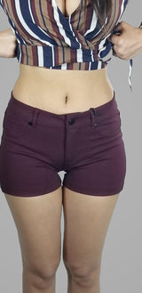 GO TO SHORTS (PLUM)
