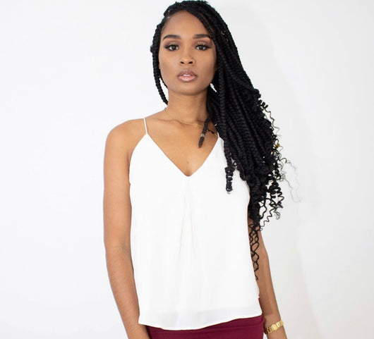 MY MOVE LACE TOP (WHITE)