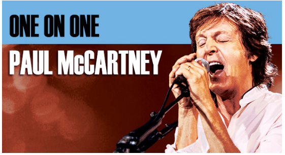 PAUL McCARTNEY Gets 'ONE ON ONE' with Colombia - New 2017 concert announced