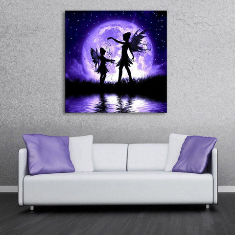 light up canvas prints