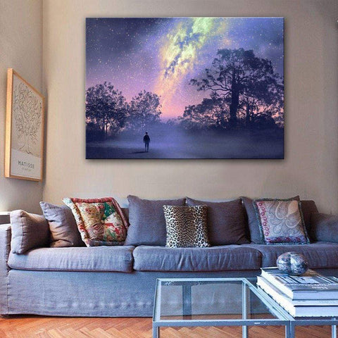 illuminated canvas art