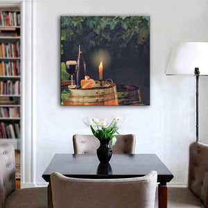 canvas light up wall art