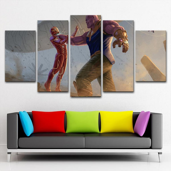 Avengers Paintings HD Print on Canvas Thanos Home Decor Wall Art Pictures Poster