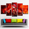 Cleveland Indians 5 Piece Canvas - smileycool