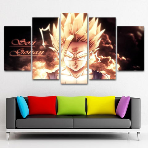 Dragon Ball Goku Canvas Painting