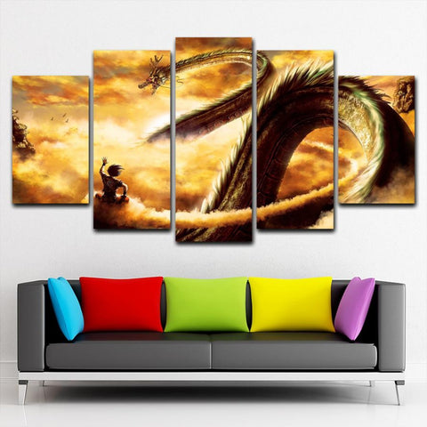 DragonBalls Dragon Canvas Painting