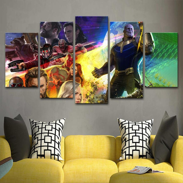 AV 1903185 Avengers Canvas Painting