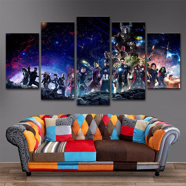 Avengers  Infinity War Canvas Painting