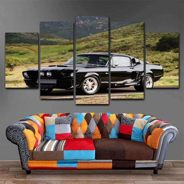 MusTang  5 Piece Canvas