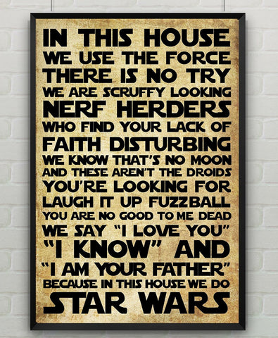 IN THIS HOUSE Poster