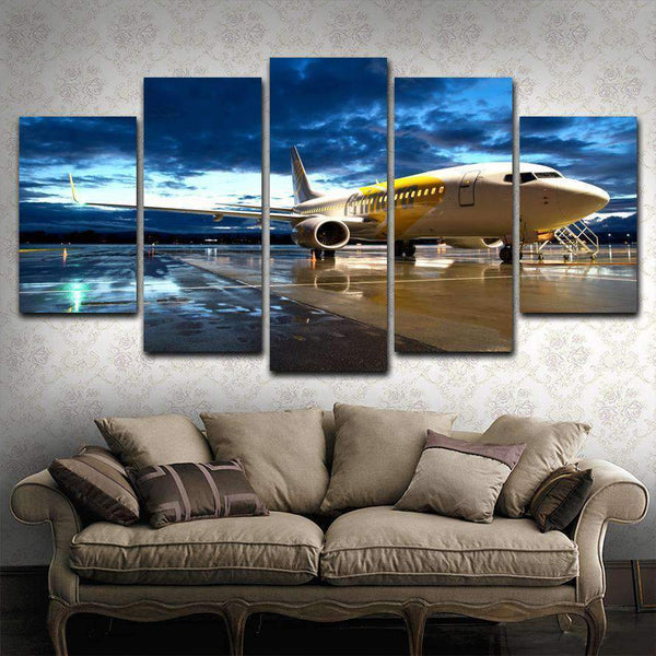 Boeing  5 Piece Canvas - smileycool