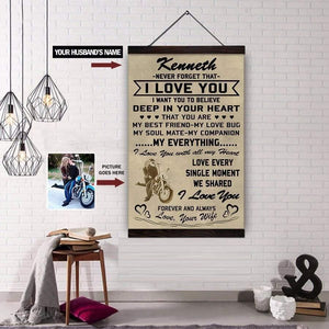 black and white cycling posters