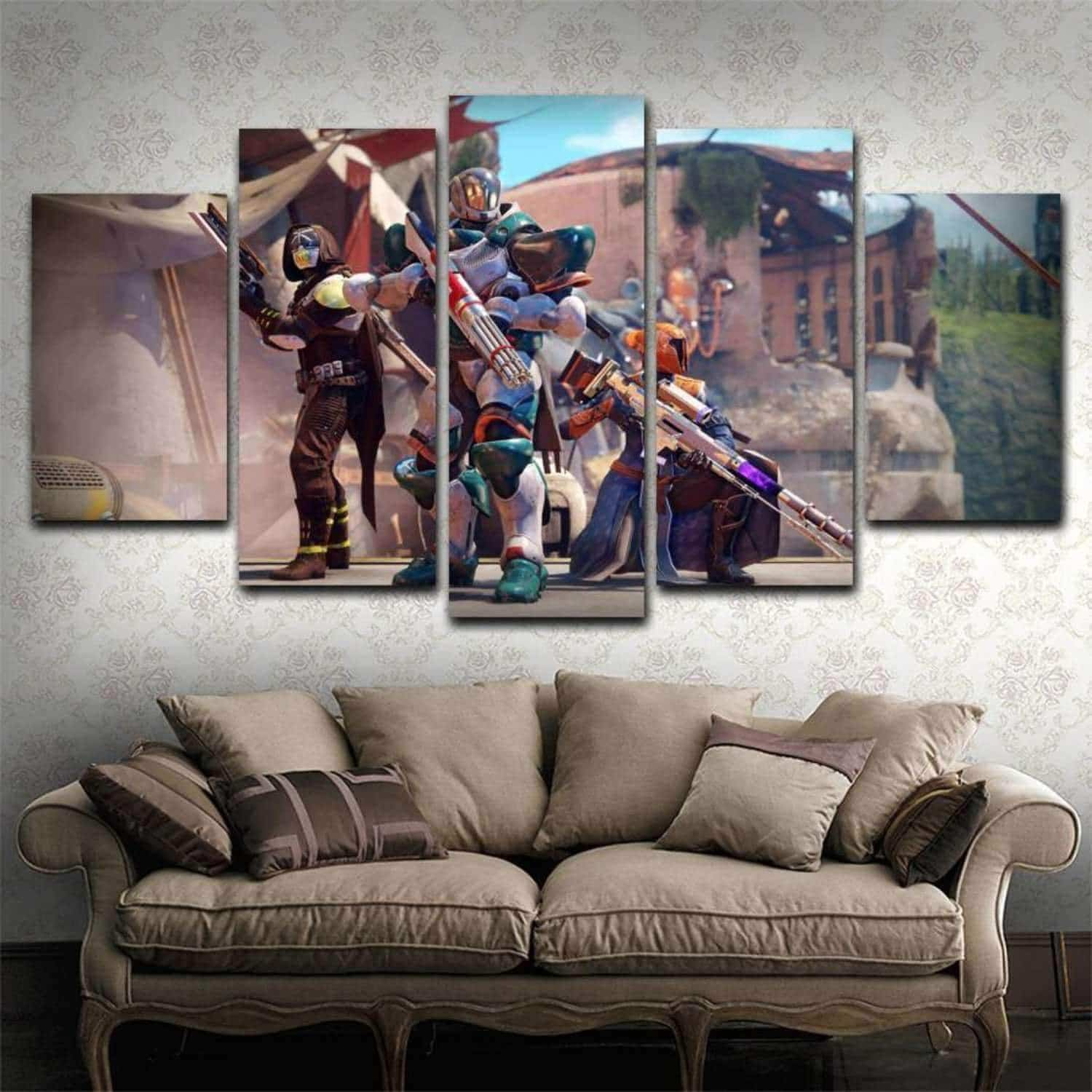 Destiny  5 Piece Canvas