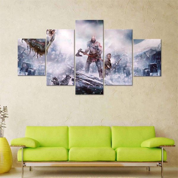 Limited Edition 5 Piece Canvas