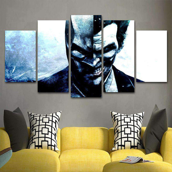 Joker 5 Piece Canvas