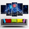 Chicago Cubs 5 Piece Canvas - smileycool