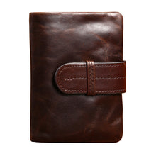Men Leather Wallet Vintage