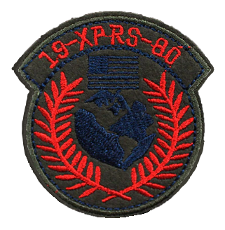 Patch Embroidered - 19-XPRS-80 Wreath