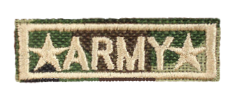 Patch Embroidered - Army Major General