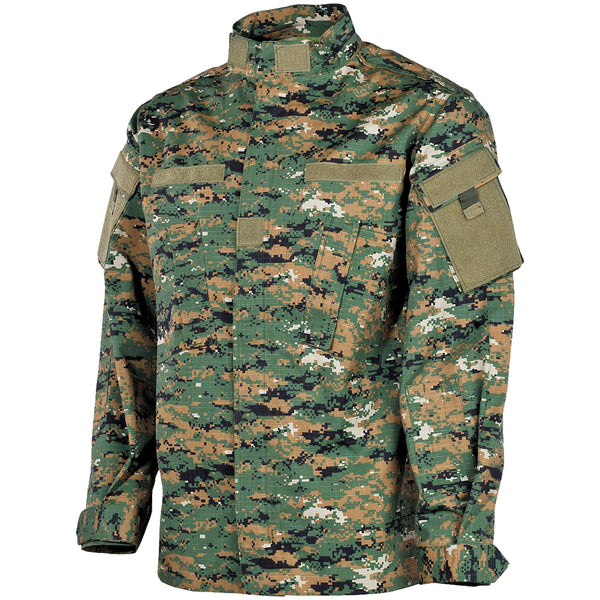 Military BDU Digital Woodland
