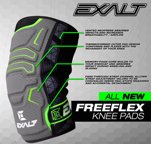 Exalt FreeFlex Knee Pad