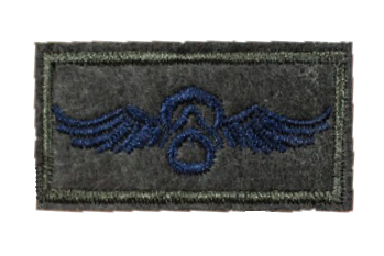 Patch Embroidered - H.A.L.O. Paratrooper